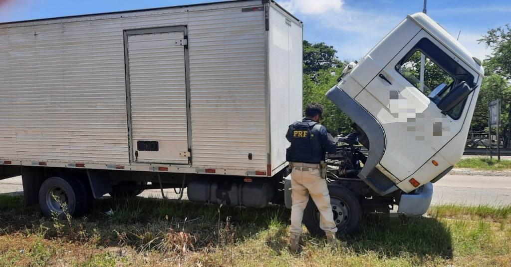 Caminhão 'bruxo' rodou por 8 anos até ser apreendido pela PRF