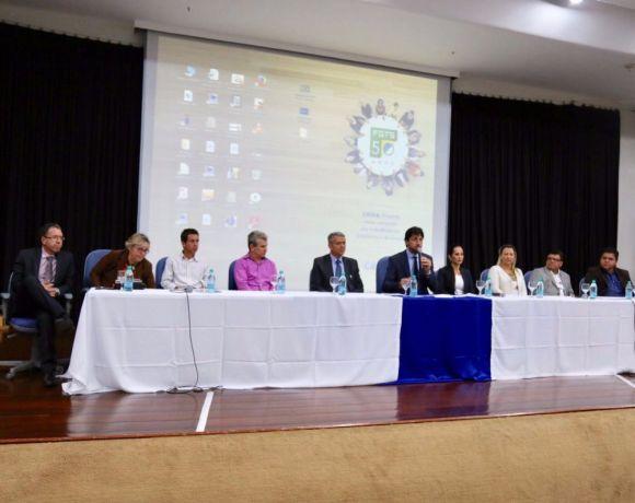Presidente Paulinho dando Inicio ao Evento