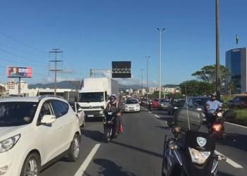 Acidente na Via Expressa   Foto: GMF