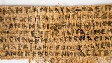 Photo of Análises apontam que papiro que fala da esposa de Jesus não é falso