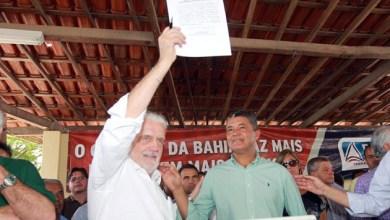 Photo of Chapada: Governador assina ordem de serviço para obras de reconstrução de Lajedinho