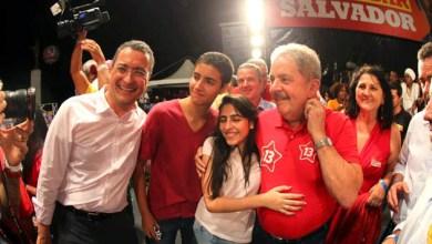Photo of Eleições 2014: Ato político reúne Lula, Rui Costa e lideranças de partidos aliados