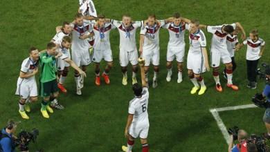 Photo of Alemanha comemora título com dança pataxó no Maracanã; equipe ficou hospedada na Bahia