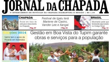 Photo of Editorial: Notícias da Chapada em 2 cadernos