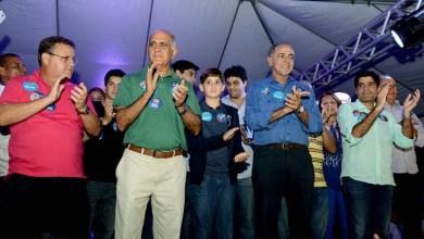 Photo of Inauguração de comitê de Aleluia reúne Paulo Souto, Geddel e ACM Neto