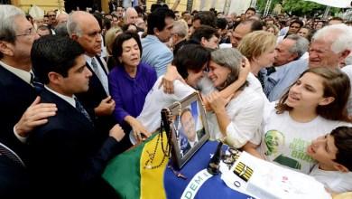 Photo of Paulo Souto e ACM Neto participam de últimas homenagens a Eduardo Campos