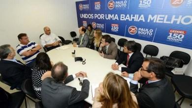 Photo of Paulo Souto se reúne com promotores do Ministério Público