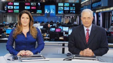 "Photo of Vídeo: William Waack leva ""bronca"" de Cristiane Pelajo ao vivo no Jornal da Globo"