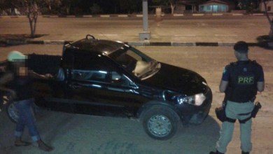 Photo of Chapada: PRF flagra mulher alcoolizada na BR 242 próximo ao município de Seabra