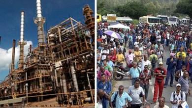 Photo of Três trabalhadores ficam feridos após explosão na refinaria Landulpho Alves