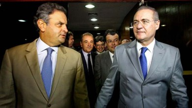 Photo of Em bate-boca no Senado, Renan Calheiros chama Aécio Neves de 'estrela'