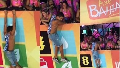 Photo of Carnaval 2015: Jovem escala camarote em Salvador para conseguir beijo de foliã