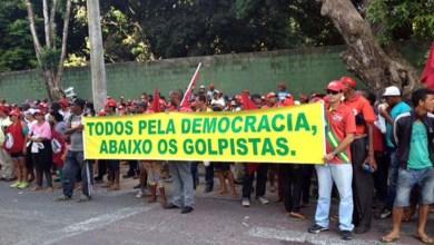 Photo of Bahia: Manifestantes participam de ato pró-Petrobras e reivindicam direitos da classe trabalhadora
