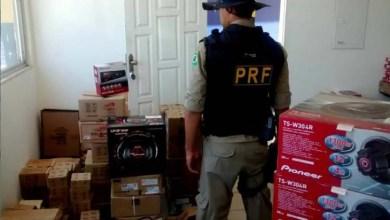Photo of Chapada: PRF apreende equipamentos eletrônicos irregulares na região de Seabra