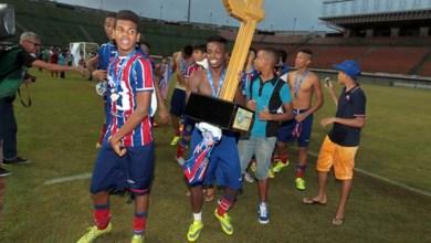 Photo of Bahia conquista a Copa 2 de Julho de Futebol Sub-15