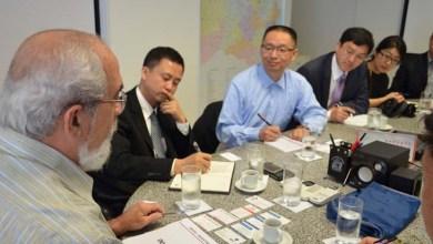 Photo of Governo do Estado apresenta projetos de infraestrutura a investidores chineses
