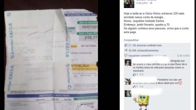 Photo of Casal baiano acha boleto com R$ 220 na rua e paga conta