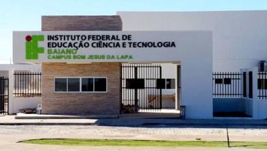 Photo of Última semana de inscrições para cursos técnico e superior no IF Baiano de Bom Jesus da Lapa