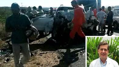 Photo of Chapada: Médico morre e esposa fica gravemente ferida em acidente próximo ao município de Itaberaba
