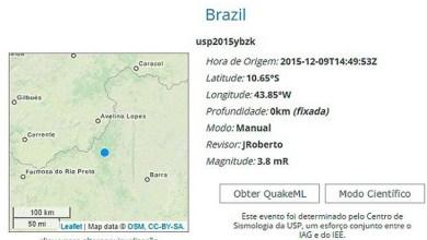 Photo of Bahia: Tremor atinge região oeste com epicentro próximo de Mansidão