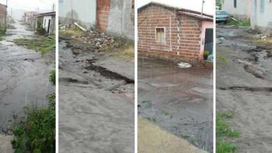 """Photo of Chapada: Moradores de Mucugê reclamam de rua sem pavimentação: """"Vira um lamaçal"""""""