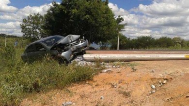 Photo of Chapada: Professor fica ferido após acidente de automóvel em Jacobina