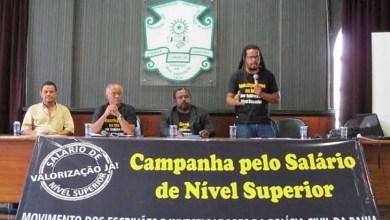 Photo of Carreata dos policiais civis baianos em direção à governadoria reivindica salário de nível superior