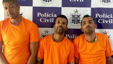 Photo of Trio é preso com 13 quilos de drogas em Feira de Santana