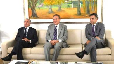 Photo of Renan Calheiros se reúne com Michel Temer e Aécio Neves em Brasília