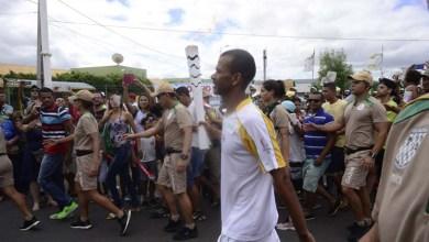 Photo of Bahia: Tocha olímpica passa por Juazeiro durante comemoração de Corpus Christi