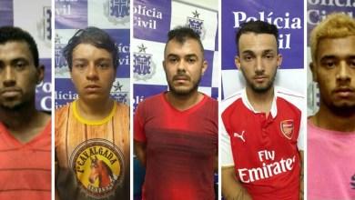 Photo of Chapada: Polícia prende quadrilha suspeita de cometer assaltos em Seabra