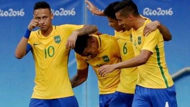 Photo of #Rio2016: Brasil goleia Dinamarca e se classifica para as quartas no futebol masculino