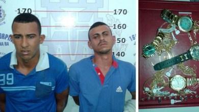 Photo of Chapada: Acusados de assalto a joalheria são presos em Jacobina