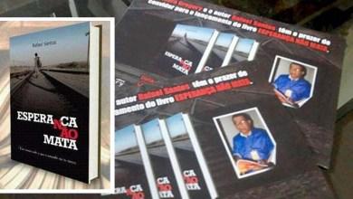 Photo of Chapada: Escritor da região lança novo livro com 'esperança' no tema central