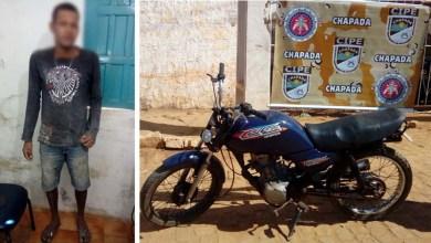 Photo of Chapada: Moto roubada é recuperada pela polícia em Mulungu do Morro