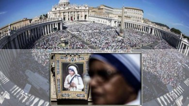 Photo of Mundo: Madre Teresa de Calcutá é canonizada pelo papa Francisco em missa no Vaticano