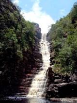 Cachoeira dos Cristais fica também em Andaraí | FOTO: Facebook/Agência Don'anna Adventure&Trekking |