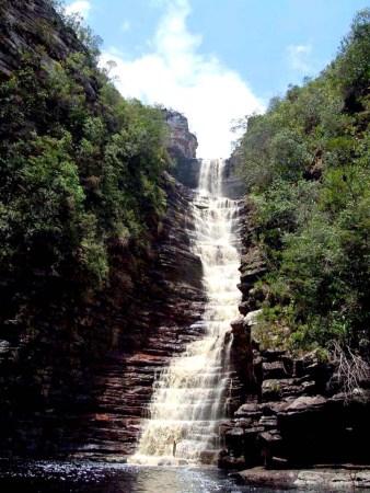 Cachoeira dos Cristais fica também em Andaraí   FOTO: Facebook/Agência Don'anna Adventure&Trekking  