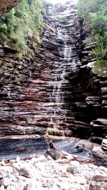 Cachoeira dos Cristais integra o territorio de Andaraí   FOTO: Facebook/Andaraí Oficial  