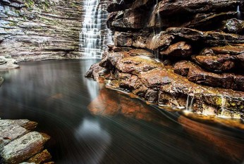Cachoeira da Invernada FOTO: Reprodução/Tom Alves  