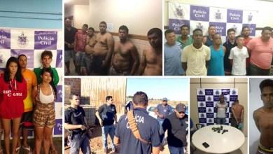 Photo of Chapada: Operação policial prende 56 assassinos no interior; Itaberaba teve 15 presos