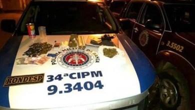 Photo of Chapada: Guarda municipal é preso com drogas no município de Barra da Estiva