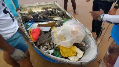 Photo of #Salvador: Mais de uma tonelada de lixo é retirada do mar da praia de Cantagalo no domingo