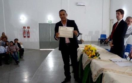 Valdes Brito é prefeito de Itaetê - FOTO Jornal da Chapada