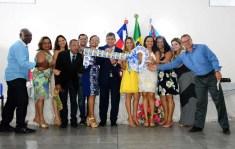 Posse dos novos secretários | FOTO: Cezar Romero Silva |
