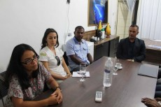 Soraya Martins e Marcela Marins durante reunião - FOTO Divulgação-Ascom