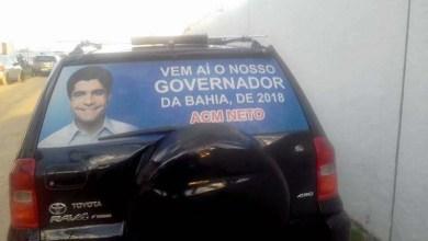 Photo of #Bahia: Propaganda com imagem de ACM Neto circula no interior e antecipa clima de eleição