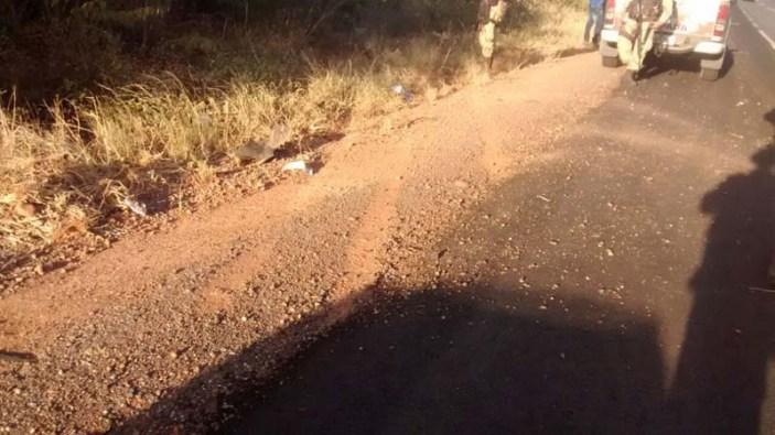 acidente na região de Boninal - FOTO Cipe-Chapada 3