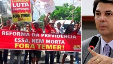 Photo of Vídeo: Durante protesto em Salvador, relator da reforma da Previdência é chamado de ladrão