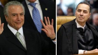 Photo of #Polêmica: Ministro do STF Roberto Barroso determina quebra de sigilo bancário de Michel Temer